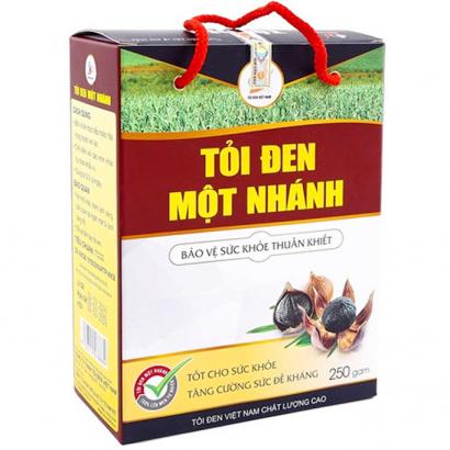 Tỏi Đen Cô Đơn Việt Nam 250gam (Tỏi đen 1 nhánh)